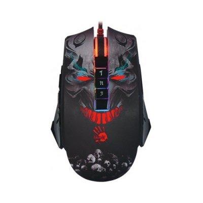 Мышь A4Tech P85 Bloody Skull Black USB