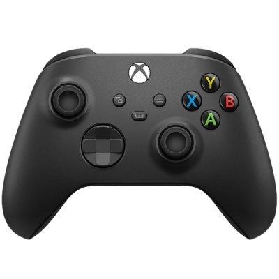 Геймпад Microsoft Xbox Series X | S Wireless Controller Carbon Black (XOA-0005, QAT-00001)