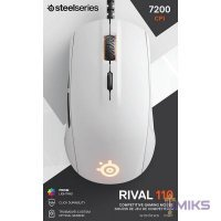 Мышь SteelSeries Rival 110, white (62468)