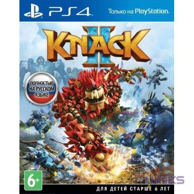 Игра Sony Knack 2 [PS4, Russian version] (9897163)