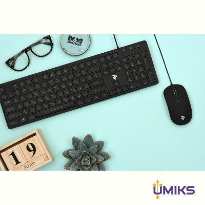 Мышь 2Е MF110 USB Black (2E-MF110UB)