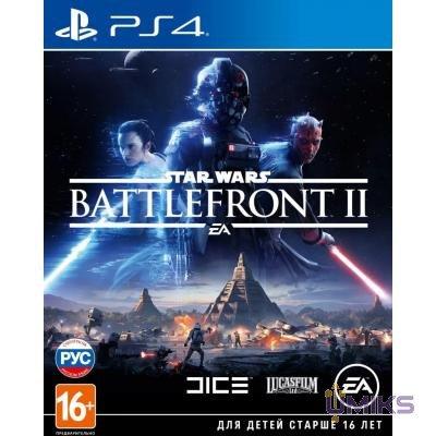 Игра Sony STAR WARS BATTLEFRONT II [PS4] на BD диске (6121618)