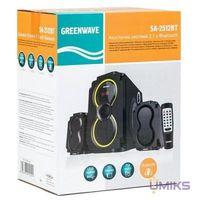Акустичеcкая система Greenwave SA-2512BT Black (R0015182)