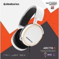 Наушники Steelseries Arctis 5 White 2019 Edition (61507)