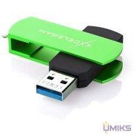 USB Flash накопитель eXceleram 64GB P2 Series Green/Black USB 3.1 Gen 1 (EXP2U3GRB64)