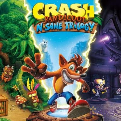 Игра Sony Crash Bandicoot N'sane Trilogy [Blu-Ray диск] (7211034)