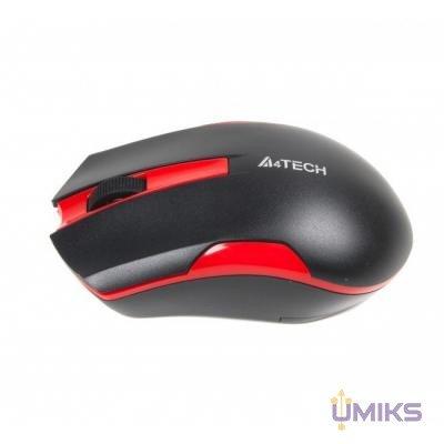 Мышь A4Tech G3-200N Black+Red