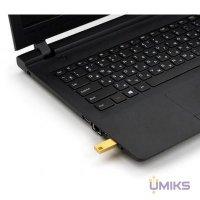 USB Flash накопитель eXceleram 128GB U1 Series Gold USB 3.1 Gen 1 (EXP2U3U1G128)