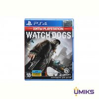 Игра PS4 Watch Dogs (Хиты PlayStation)[Blu-Ray диск] (8112639)