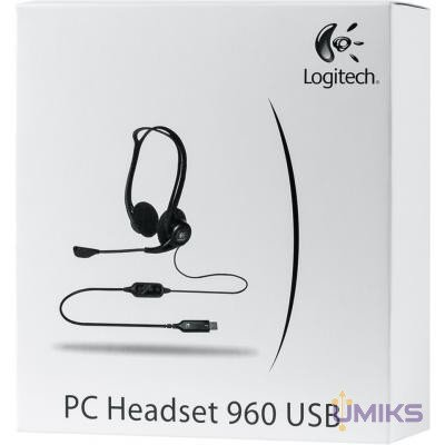 Гарнитура Logitech PC 960 Headset USB